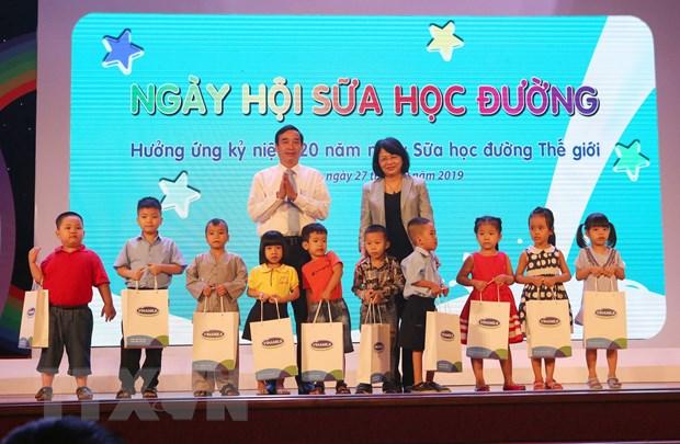 Pho Chu tich nuoc du Ngay hoi Sua hoc duong cho tre em tai Da Nang hinh anh 2