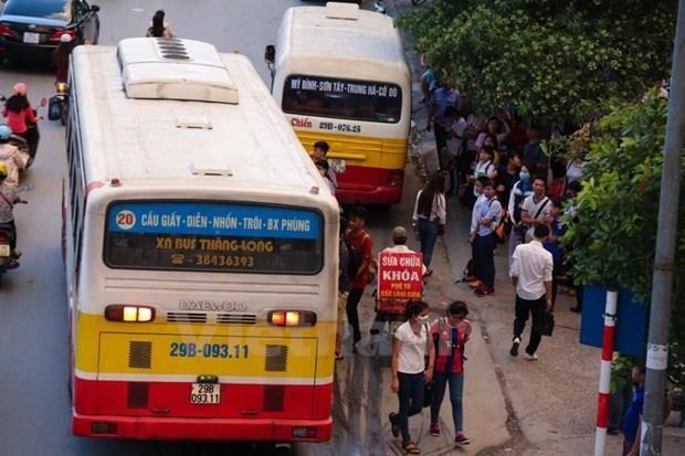 Ha Noi dua xe buyt dien vao hoat dong trong giai doan 2021-2025 hinh anh 1