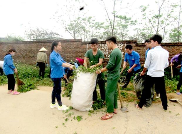 Quang Ngai: Trien khai mo hinh 'Lang khong rac' o xa Pho Thanh hinh anh 1