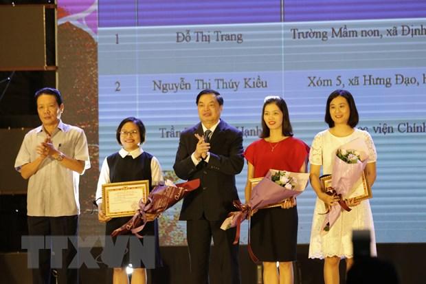 Trao giai thi tim hieu lich su Dang Cong san Viet Nam tren mang VCNET hinh anh 2