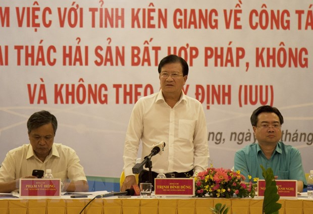 Pho Thu tuong: Cham dut ngay tinh trang khai thac hai san bat hop phap hinh anh 2