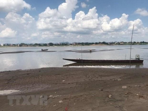 Thai Lan: Nuoc song Mekong o muc thap nhat trong gan 100 nam qua hinh anh 1