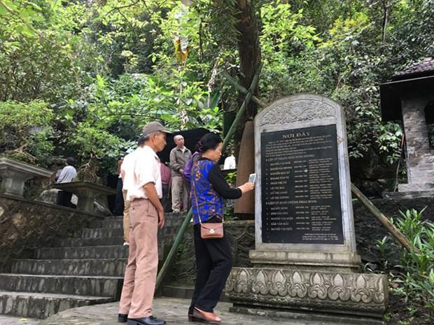 Quang Binh: Tuan le tuong niem cac anh hung liet sy tai Hang Tam Co hinh anh 1