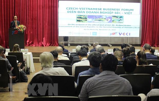 Dien dan Doanh nghiep Viet Nam-Cong hoa Sec tai TP Ho Chi Minh hinh anh 1