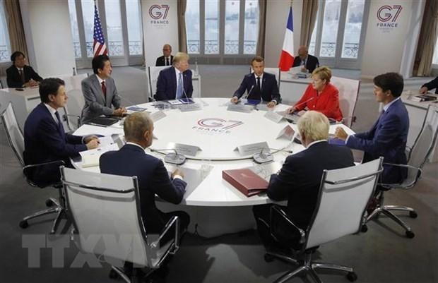 Ha vien My thong qua du luat khong chap thuan Nga du Hoi nghi G7 hinh anh 1