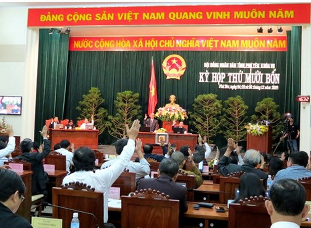 Phu Yen: Bau bo sung Uy vien UBND tinh voi Giam doc So Cong Thuong hinh anh 1
