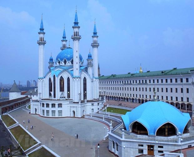 Kremli trang - mot net dep lang man cua thanh pho Kazan hinh anh 1