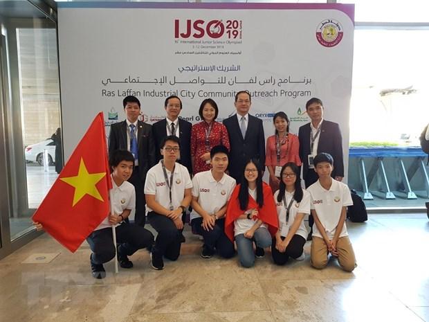 Viet Nam gianh 3 HCV, 3 HCB tai Ky thi Olympic Khoa hoc tre IJSO 2019 hinh anh 2