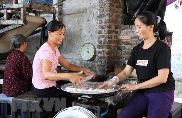 Ve Bac Ninh thuong thuc mon qua que banh cuon Mao Dien hinh anh 3