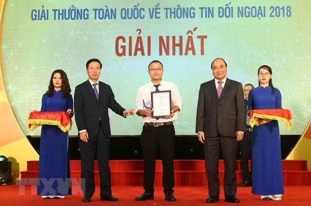 Giai thuong thong tin doi ngoai: Han nop tac pham truoc 31/3/2020 hinh anh 1