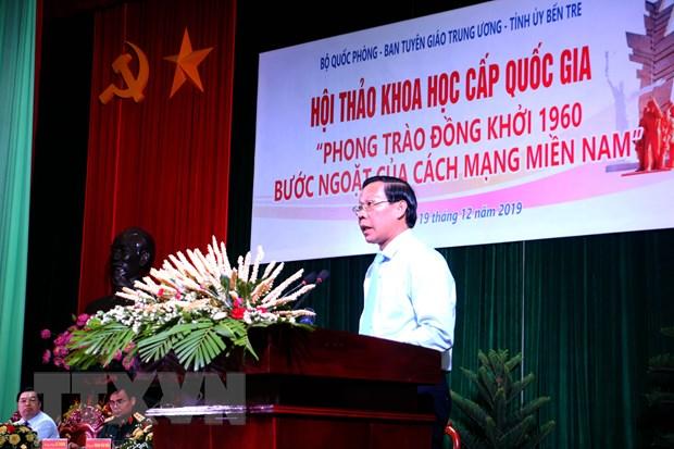 Phong trao Dong khoi 1960 - Buoc ngoat cua cach mang mien Nam hinh anh 2