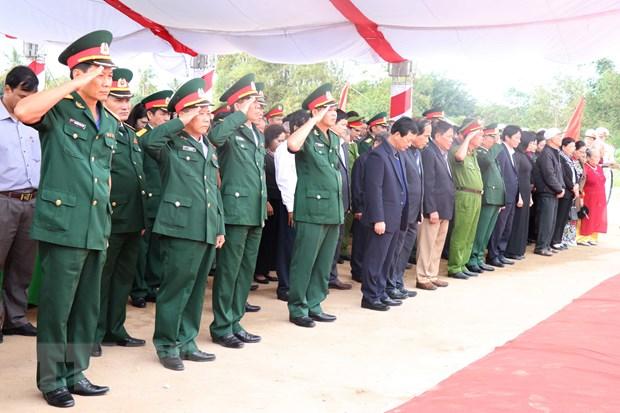 Gia Lai: Truy dieu cac liet sy hy sinh trong khang chien chong Phap hinh anh 2