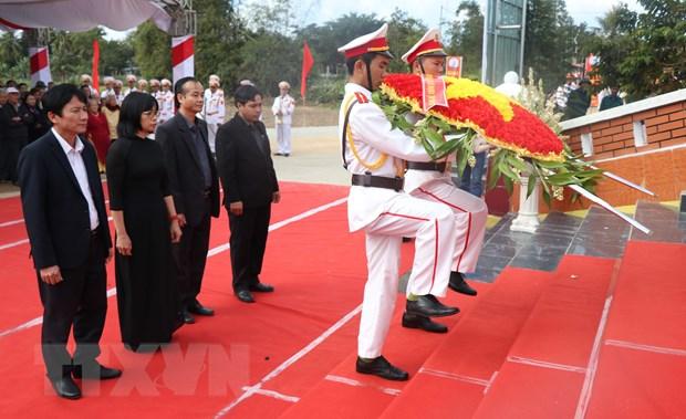 Gia Lai: Truy dieu cac liet sy hy sinh trong khang chien chong Phap hinh anh 3