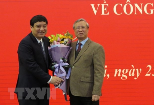 Ong Nguyen Dac Vinh giu chuc Pho Chanh VP Trung uong Dang hinh anh 1