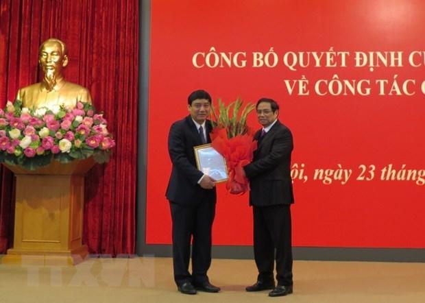 Ong Nguyen Dac Vinh giu chuc Pho Chanh VP Trung uong Dang hinh anh 2