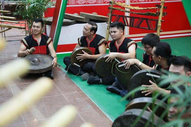 Bao ton va phat huy gia tri khong gian van hoa cong chieng Tay Nguyen hinh anh 1