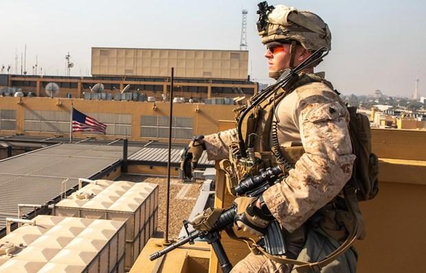 Gioi chuc Iraq xuc tien viec truc xuat binh sy nuoc ngoai hinh anh 1