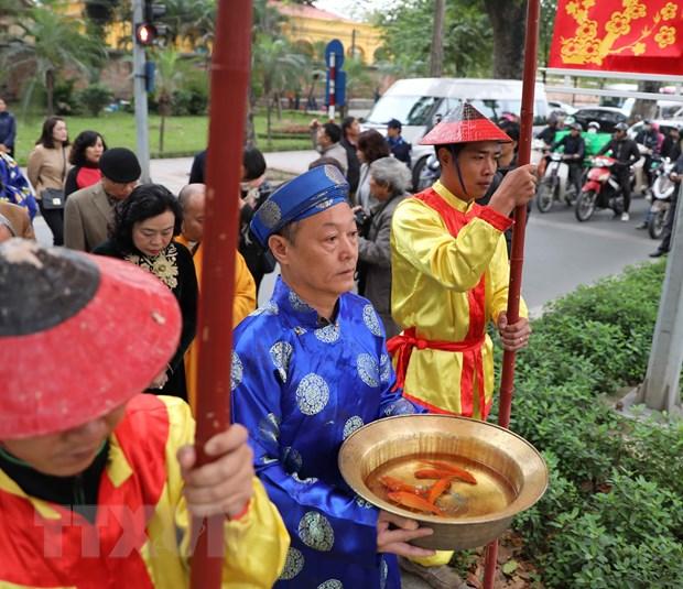 """Tai hien nghi le """"Tong cuu nghinh tan"""" tai Hoang thanh Thang Long hinh anh 3"""