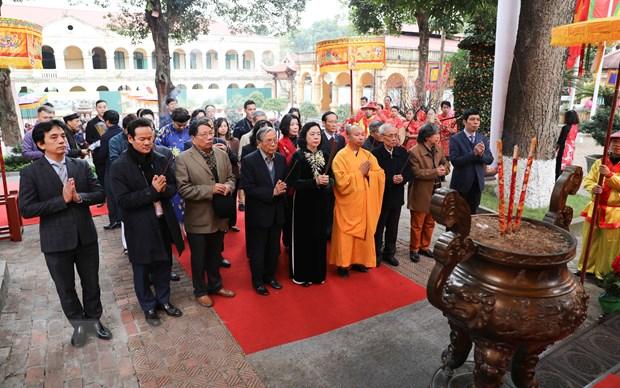 """Tai hien nghi le """"Tong cuu nghinh tan"""" tai Hoang thanh Thang Long hinh anh 2"""