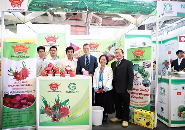 Cac doanh nghiep rau qua Viet Nam tham gia Fruit Logistica 2020 hinh anh 2