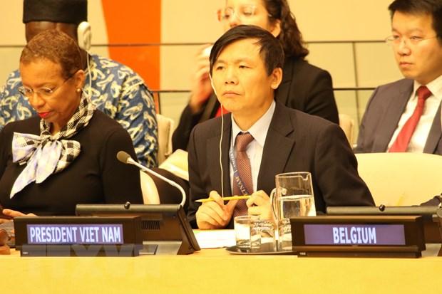 Viet Nam ung ho viec tang cuong hop tac giua OSCE va Hoi dong Bao an hinh anh 1
