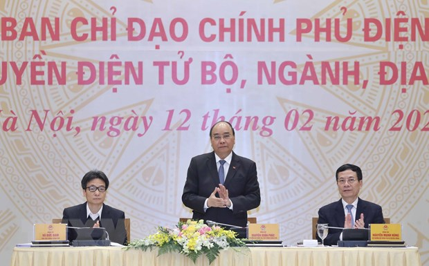 Thu tuong: Xay nen tang de nhan dan truy cap dich vu Chinh phu dien tu hinh anh 1