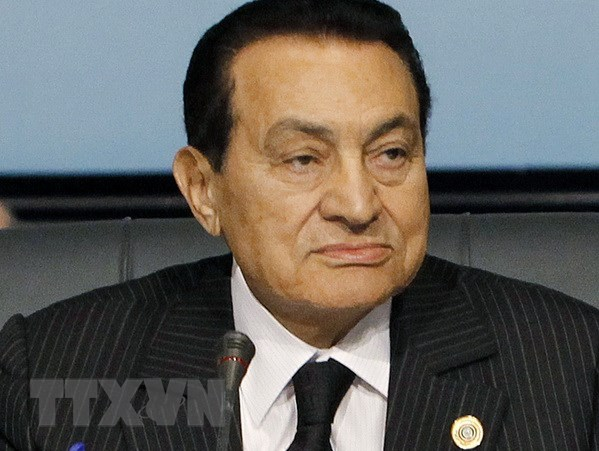 Ai Cap thong bao quoc tang cuu Tong thong Hosni Mubarak hinh anh 1