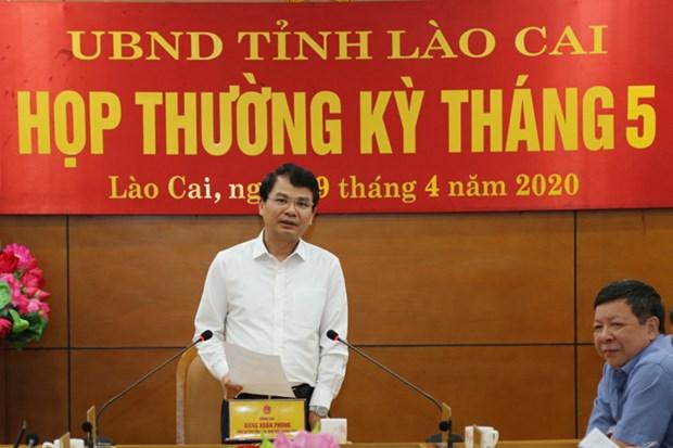 Lao Cai: Nhieu giai phap thuc day kinh te-xa hoi hau dich COVID-19 hinh anh 1
