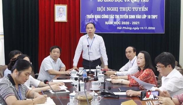 Diem moi trong ky thi vao lop 10 nam hoc 2020-2021 tai Hai Phong hinh anh 1