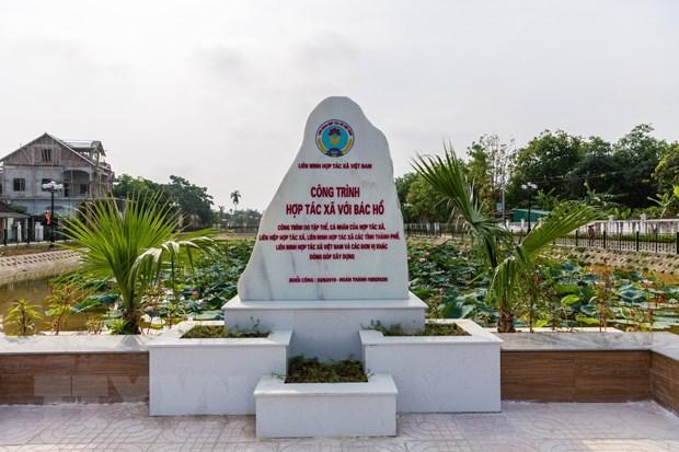 Ao Sen - diem nhan van hoa du lich tren que huong Chu tich Ho Chi Minh hinh anh 2