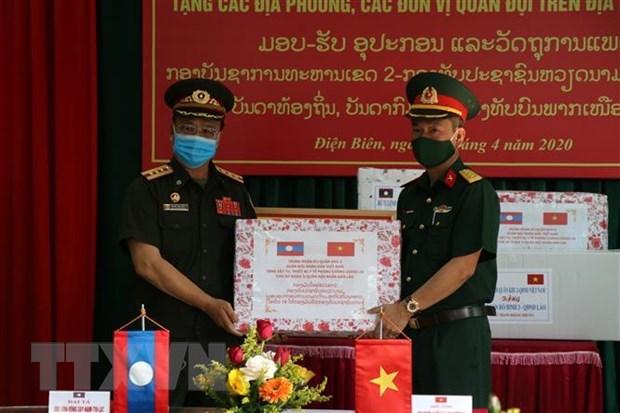 Quang Ngai ho tro tinh Champasack phong, chong dich COVID-19 hinh anh 1