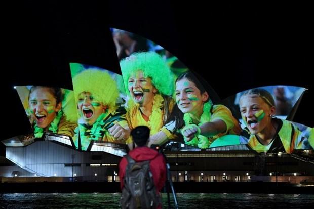 Australia, New Zealand gianh quyen dang cai World Cup bong da nu 2023 hinh anh 1