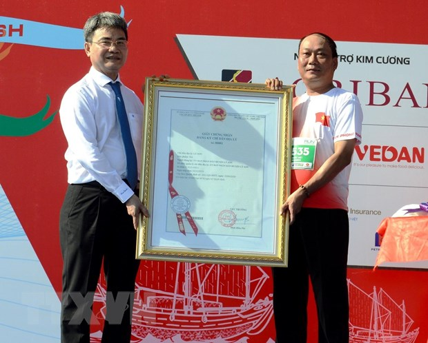Quang Ngai: San pham toi Ly Son duoc cap chung nhan chi dan dia ly hinh anh 1