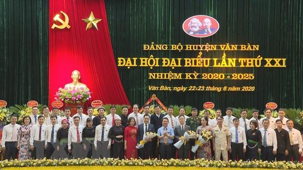 Lao Cai hoan thanh Dai hoi Dang bo cap tren co so som nhat ca nuoc hinh anh 1