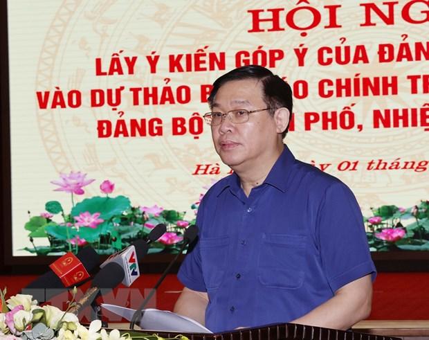 Chu tich Quoc hoi: Du thao van kien cua Ha Noi can gan voi Luat Thu do hinh anh 2