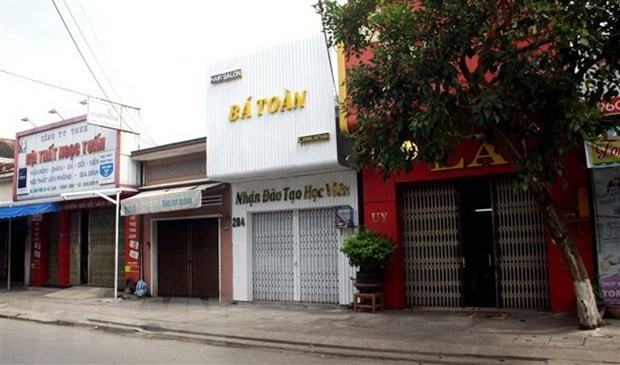 Quang Nam: Ho tro tien an cho nhan dan o khu vuc bi phong toa do dich hinh anh 1