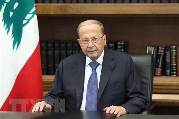 Liban khang dinh khong co su cham tre trong cong tac dieu tra vu no hinh anh 1