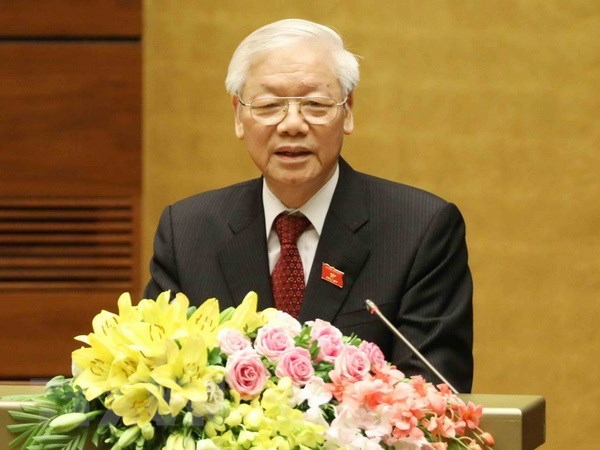 Tong Bi thu: AIPA dong gop thiet thuc vao su phat trien cua ASEAN hinh anh 1