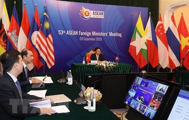 EU danh gia cao thanh cong cua hoi nghi AMM 53 do Viet Nam to chuc hinh anh 1
