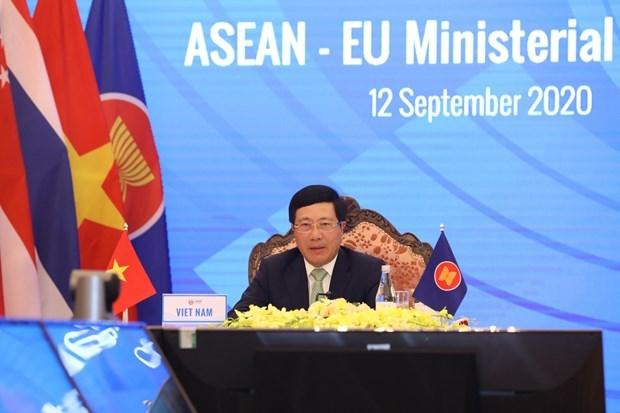 Campuchia ung ho nang quan he ASEAN-EU len tam doi tac chien luoc hinh anh 1
