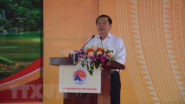 Cao Bang: Chinh thuc dong tho xay dung cao toc Dong Dang-Tra Linh hinh anh 2