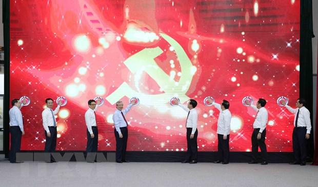 "Khai truong Trang tin dien tu ""Dang Cong san Viet Nam- Dai hoi XIII"" hinh anh 1"