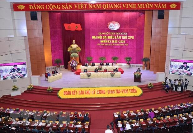 Ong Ngo Van Tuan duoc bau lam Bi thu Tinh uy Hoa Binh hinh anh 2