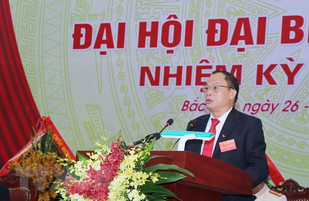 Dai hoi Dang bo tinh Bac Kan: Phat huy loi the ve tai nguyen hinh anh 2