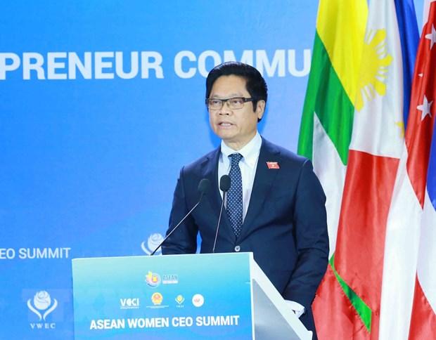 ASEAN 2020: Khai mac Hoi nghi thuong dinh kinh doanh Viet Nam 2020 hinh anh 1