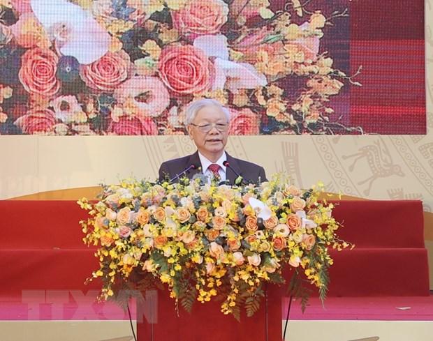 TBT, Chu tich nuoc du ky niem 70 nam thanh lap Truong Nguyen Gia Thieu hinh anh 2
