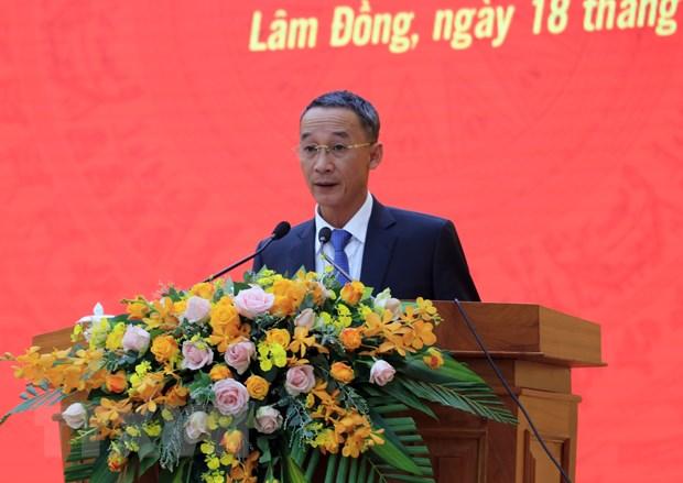 Ong Tran Van Hiep duoc bau lam Chu tich UBND tinh Lam Dong hinh anh 1