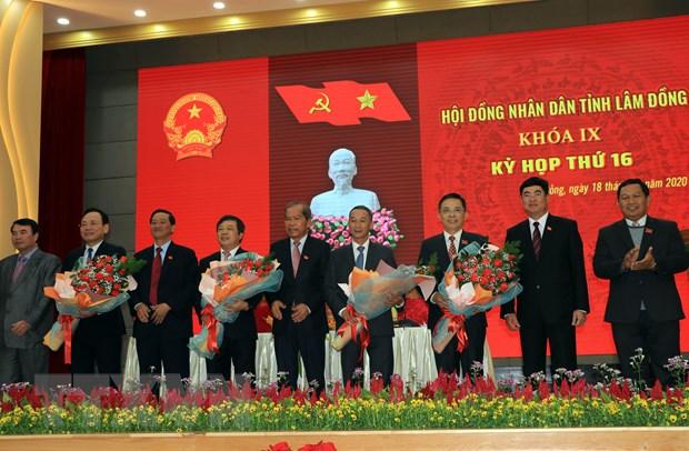 Ong Tran Van Hiep duoc bau lam Chu tich UBND tinh Lam Dong hinh anh 2