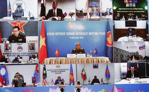 Duy tri doan ket, uy tin cua ASEAN trong hop tac quoc phong da phuong hinh anh 1