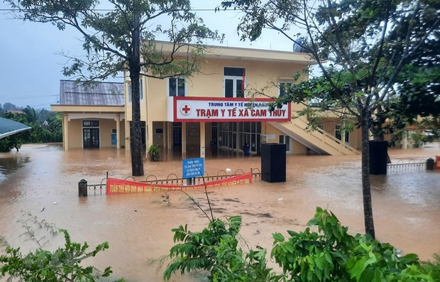 Quang Tri: Hang chuc nghin ho dan thieu nuoc sinh hoat sau lu lut hinh anh 1